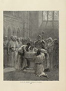 Plate LXvIII from the book Story of the crusades. with a magnificent gallery of one hundred full-page engravings by the world-renowned artist, Gustave Doré [Gustave Dore] by Boyd, James P. (James Penny), 1836-1910. Published in Philadelphia 1892