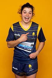 Caity Mattinson of Worcester Warriors Women - Mandatory by-line: Robbie Stephenson/JMP - 27/10/2020 - RUGBY - Sixways Stadium - Worcester, England - Worcester Warriors Women Headshots