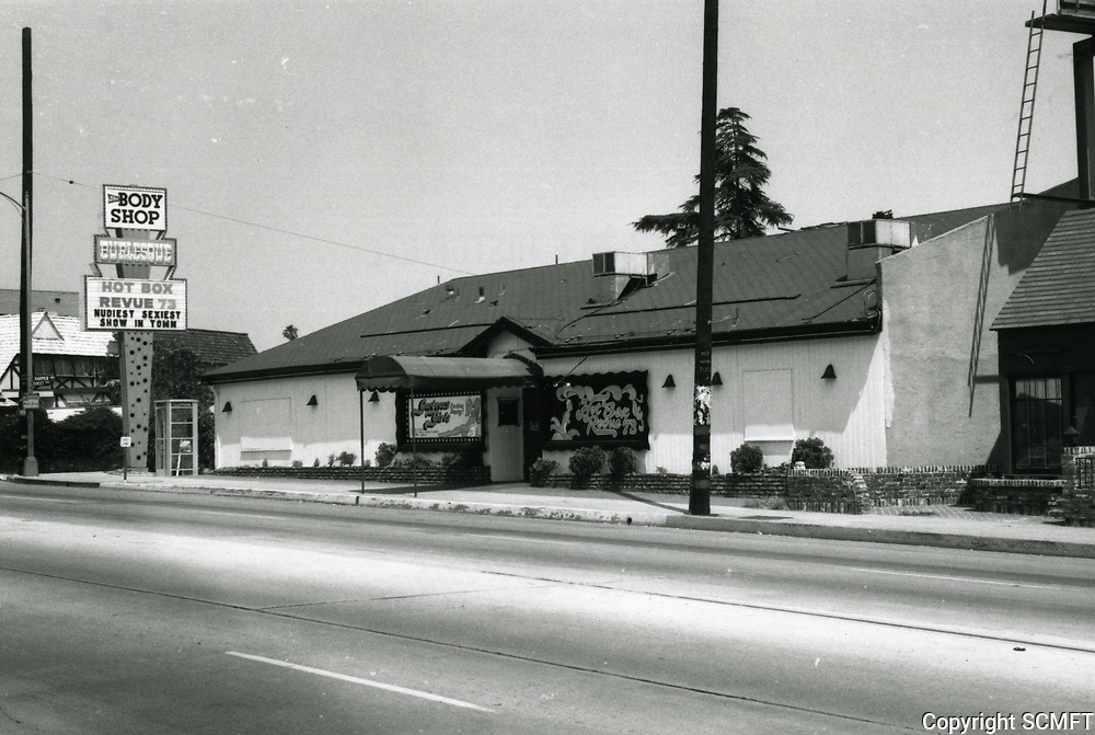 1973 Body Shop Burlesque on Sunset Blvd.