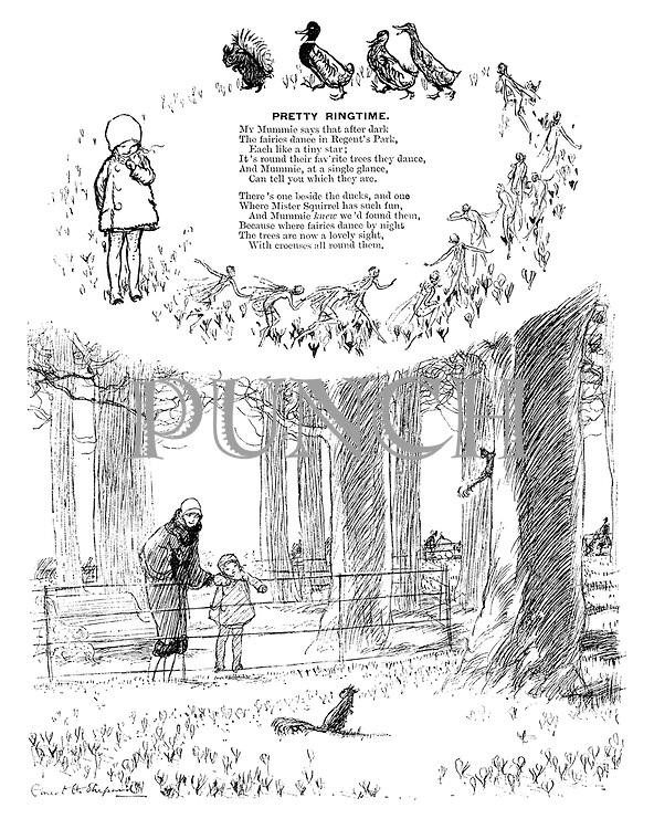 Pretty Ringtime (illustrated poem).
