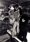 The Slits bathroom photosession 1982 Ari Up and Viv Albertine