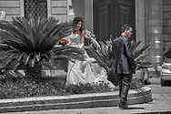 SERIES - UNRELIABLE-SIGHTINGS SYRACUSA QWDDING by PAUL WILLIAMS- Cathedral wedding  Syracuse Sicily Siracusa Wedding Sicily is a selective colour street photography series by photographer Paul Williams showing the people attending a traditional Sicilian wedding at Siracusa Duomo. Taken in  2009 .<br /> <br /> Visit our DAY TRIPPER PHOTO COLLECTIONS for more photos to buy as buy as wall art prints https://funkystock.photoshelter.com/gallery-collection/DAY-TRIPPER-Street-Art-Photography-Series-by-Photographer-Paul-Williams/C0000JflvyZIhabE .<br /> <br /> Visit our REPORTAGE & STREET PEOPLE PHOTO ART PRINT COLLECTIONS for more wall art photos to browse https://funkystock.photoshelter.com/gallery-collection/People-Photo-art-Prints-by-Photographer-Paul-Williams/C0000g1LA1LacMD8