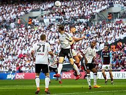 Kevin McDonald of Fulham and Conor Hourihane of Aston Villa - Rogan/JMP - 26/05/2018 - FOOTBALL - Wembley Stadium - London, England - Aston Villa v Fulham - Sky Bet Championship Play-Off Final.