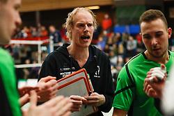 20170225 NED: Eredivisie, Valei Volleybal Prins - Coolen - Alterno: Ede<br />Niels Ringenaldus, headcoach of Coolen Alterno<br />©2017-FotoHoogendoorn.nl / Pim Waslander