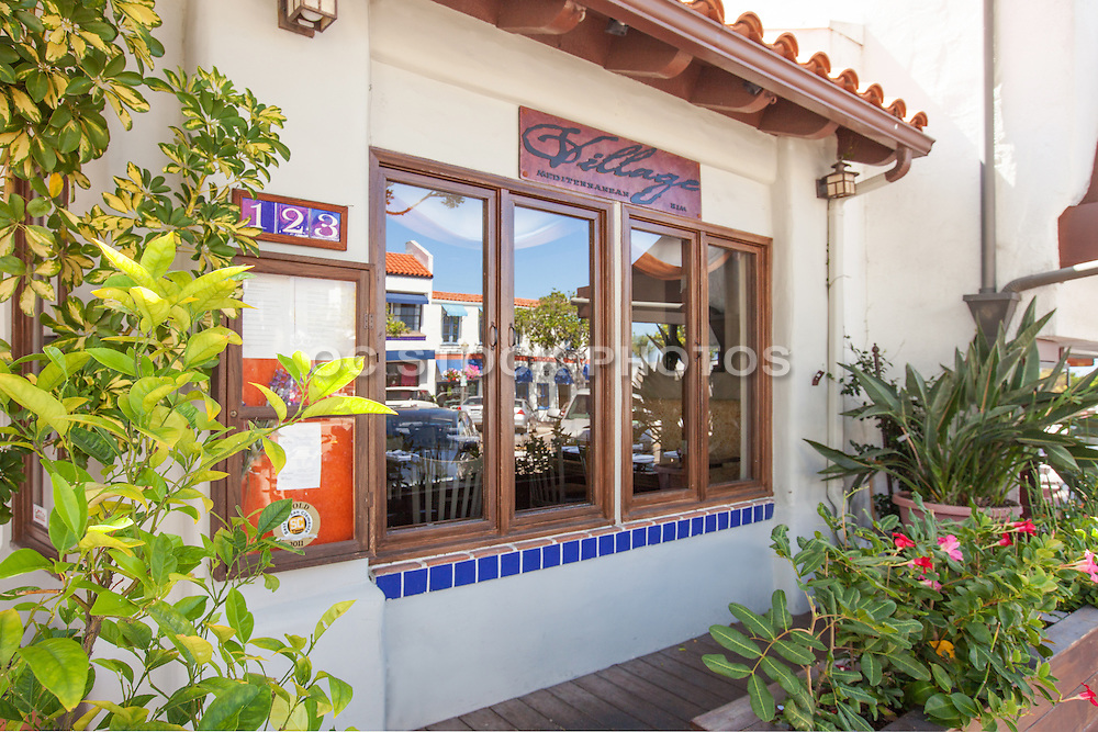 Village Mediterranean Restaurant on Del Mar San Clemente