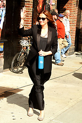 May 13, 2015 - New York, New York, U.S. - Actress JUILA ROBERTS arrives for her appearance on 'The Late Show with David Letterman' held at the Ed Sullivan Theater. (Credit Image: © Nancy Kaszerman/ZUMAPRESS.com)