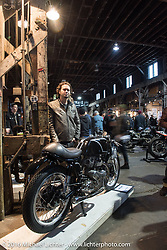 Raccia Motorcycles 1967 Kawasaki W1R at the One Show motorcycle show in Portland, OR. February 13, 2016. ©2016 Michael Lichter