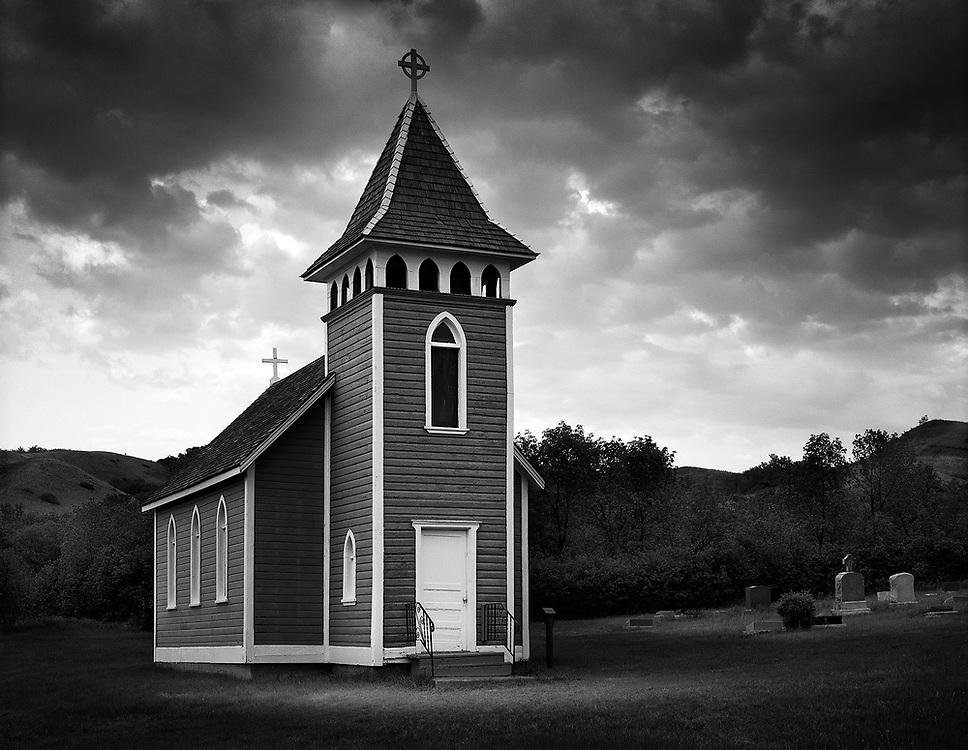 Little Church in the Valley, Lumsden, SK