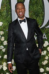 June 11, 2017 - New York, NY, USA - June 11, 2017  New York City..Corey Hawkins attending the 71st Annual Tony Awards arrivals on June 11, 2017 in New York City. (Credit Image: © Kristin Callahan/Ace Pictures via ZUMA Press)