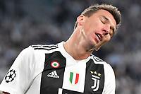Mario Mandzukic of Juventus <br /> Torino 02-10-2018 Juventus Stadium Football Calcio Uefa Champions League 2018/2019 Group H Juventus - Young Boys <br /> Foto Andrea Staccioli / Insidefoto
