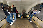 St. Louis Missouri MO USA, Inside the observation deck on the Gateway Arch October 2006