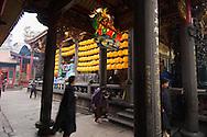 The Lungshan Daoist Temple in Taipei, Taiwan.
