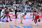 DESCRIZIONE : Trento Lega A 2015-16 Dolomiti Energia Trentino - Consultinvest Pesaro<br /> GIOCATORE : Filippo Baldi Rossi<br /> CATEGORIA : Difesa<br /> SQUADRA : Dolomiti Energia Trentino - Consultinvest Pesaro<br /> EVENTO : Campionato Lega A 2015-2016 <br /> GARA : Dolomiti Energia Trentino - Consultinvest Pesaro<br /> DATA : 08/11/2015 <br /> SPORT : Pallacanestro <br /> AUTORE : Agenzia Ciamillo-Castoria/Giulio Ciamillo<br /> Galleria : Lega Basket A 2015-2016 <br /> Fotonotizia : Trento Lega A 2015-16 Dolomiti Energia Trentino - Consultinvest Pesaro