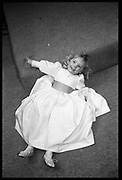 Cara Cooper-Key, marriage Hilary Chittenden/Emma Cooper-Key. Duke of Yorks Barracks, 1.2.85© Copyright Photograph by Dafydd Jones 66 Stockwell Park Rd. London SW9 0DA Tel 020 7733 0108 www.dafjones.com