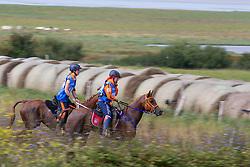 Yara De Boer, (NED), Sumaya G, Carmen Romer, Oceane d' Havenne<br /> Alltech FEI World Equestrian Games™ 2014 - Normandy, France.<br /> © Hippo Foto Team - Leanjo de Koster<br /> 25/06/14