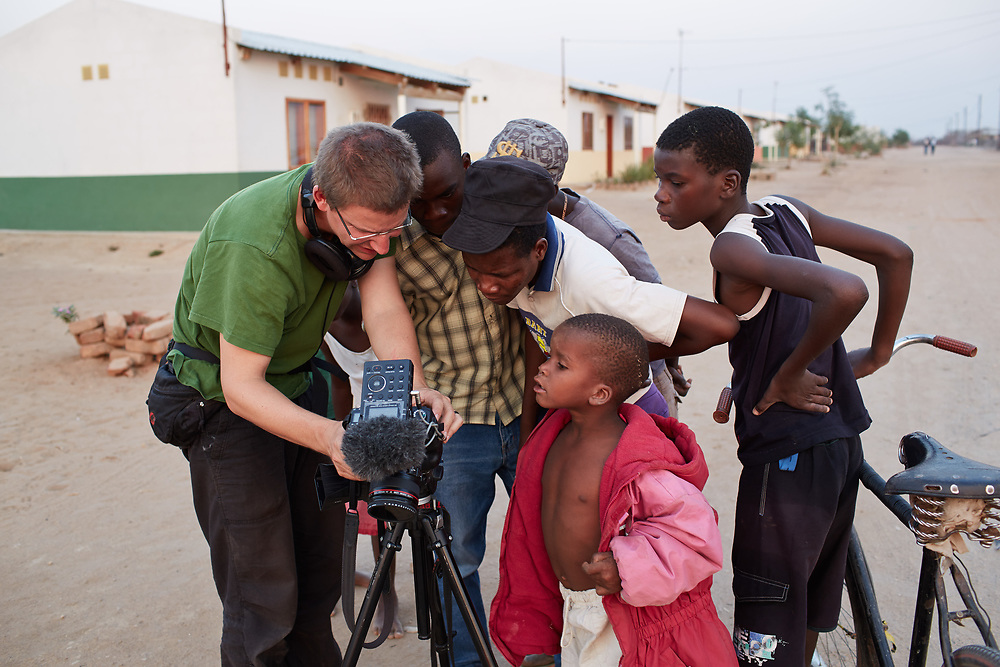 Peter Steudtner while working on a documentary film in Mozambique's Tete Province. September 2012. © Gregor Zielke Photo by Gregor Zielke (Photo by Gregor Zielke)