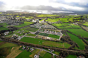 An aerial view in February 2012 of the Killarney Celtic, Killarney Rugby Club and The Legion football fields..Picture by Don MacMonagle