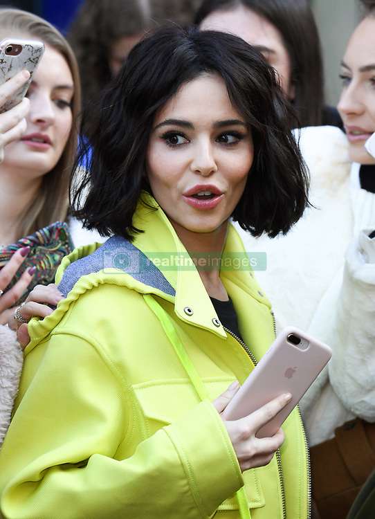 Cheryl visits Global Radio, Leicester Square, London. Photo credit should read: Doug Peters/EMPICS