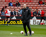 Alan Knill Assistant manager during the English League One match at Bramall Lane Stadium, Sheffield. Picture date: April 17th 2017. Pic credit should read: Simon Bellis/Sportimage