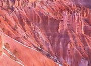 Winter Sunrise on Canyon Walls, Bryce Canyon National Park, Utah