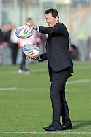 Florence, Italy -In the photo Robbie Deans coach Australia .Artemio Franchi stadium in Florence Rugby test match Cariparma.Italy vs Australia. (Credit Image: © Gilberto Carbonari).