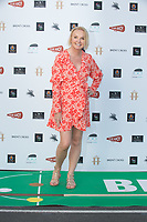 """India Willoughby at the """"Break"""" Drive-In World Premiere at Brent Cross Shopping Centre in London"""