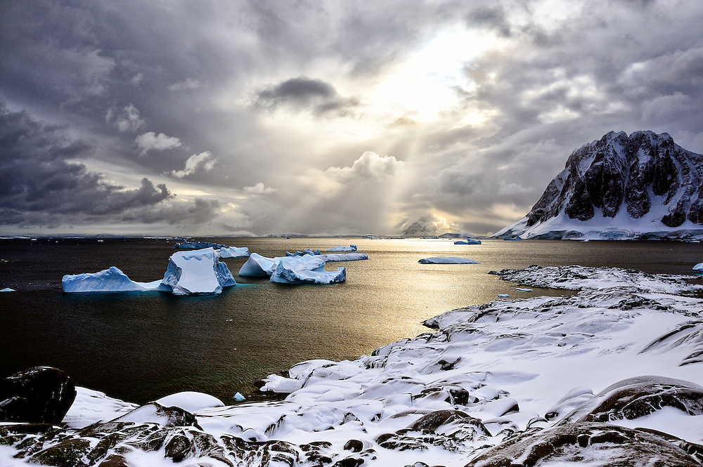 Entering a mystic state of mind, provoked by the sheer overwhelming beauty of the landscape and this otherworldly silence, is almost inevitable.<br /> <br /> Photographs from the Antarctic Peninsula created by Anuar Patjane during spring 2015
