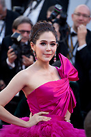 Araya Hargate at the 120 Beats per Minute (120 Battements Par Minute) gala screening,  at the 70th Cannes Film Festival Saturday 20th May 2017, Cannes, France. Photo credit: Doreen Kennedy