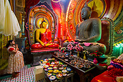 Around 70 percent of the population of Sri Lanka is Buddhist, and temples are common throughout the country.
