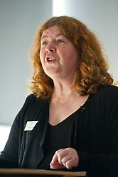 Pictured: Lynda Towers (Director of public law Morton Fraser)<br /> <br /> Conference to examine impact of Brexit on Scottish businesses and public services. The event, organised by the Fraser of Allander Institute and Strathclyde Business School, heard from a numbers of speakers including Mark Taylor (Audit Scotland), John Edward (former head of Office in Scotland, the European Parliament, Professor Russel Griggs OBE, (Chair Scottish Government Independent Advisory Regulatory Review Group), Jenny Stewart (head of Infrastructure and Government KPMG), Lynda Towers (Director of public law Morton Fraser), Katerina Lisenkova (Head of economic modelling, Fraser of Allander Institute), Ian Wooton (Professor of Economics and Vice Dean (research) Strathclyde Business School), Alastair Ross FCIPR (assistant Director, Head of Public Policy Association of British Insurers) and  Scottish Brexit Minister Mike Russell<br /> <br /> Ger Harley   EEm 2 March 2017