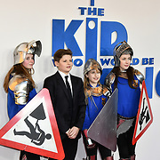 Louis Ashbourne Serkis Arrives at The Kid Who Would Be King on 3 February 2019 at ODEON Luxe Leicester Square, London, UK.