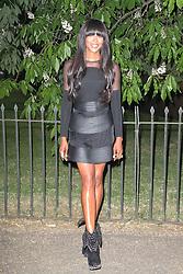 © London News Pictures. 26/06/2013. London, UK. Naomi Campbell at  The Serpentine Gallery summer party, Kensington Gardens London UK, 26 June 2013, Photo credit: Richard Goldschmidt/LNP