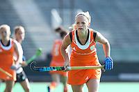 ROTTERDAM - HOCKEY - Kitty Van Male . Oefenwedstrijd tussen de vrouwen van Nederland en Duitsland (10-2) ter voorbereiding voor de HWL, volgende week. COPYRIGHT KOEN SUYK