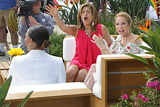 Today with Kathie Lee and Hoda shoots on Venice Beach With Mel B as a guest - 25 May 2018
