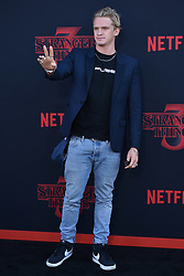 """Cody Simpson attends the premiere of Netflix's """"Stranger Things"""" Season 3 on June 28, 2019 in Santa Monica, CA, USA. Photo by Lionel Hahn/ABACAPRESS.COM"""