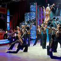 Former dancer Ilona Medveczky returns to the dance floor during the dance TV show Saturday Night Fever.