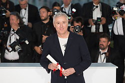Director Robin Campillo, who won the Grand Prix for the movie '120 Beats Per Minute' (120 Battements Par Minute) attend the Palme D'Or winner photocall during the 70th annual Cannes Film Festival held at the Palais Des Festivals in Cannes, France on May 28, 2017 as part of the 70th Cannes Film Festival. Photo by Nicolas Genin/ABACAPRESS.COM