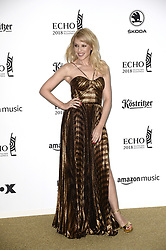 April 12, 2018 - Berlin, Germany - Kylie Minogue.Echo Pop Verleihung, Berlin, Germany - 11 Apr 2018.Credit: MichaelTimm/face to face (Credit Image: © face to face via ZUMA Press)