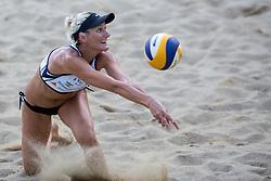 Andreja Vodeb at tournament for Slovenian national championship - Drzavno prvenstvo Kranj 2013 on July 26, 2013, in Kranj, Slovenia. (Photo by Matic Klansek Velej / Sportida)