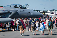 New Windsor, New York - The New York Air Show was held at Stewart International Airport on July 2,  2017.