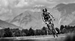 28.08.2016, Zell am See Kaprun, AUT, IRONMAN 70.3 Salzburg, im Bild Maciej Chmura (POL) // Maciej Chmura (POL) during IRONMAN 70.3, Salzburg at Zell am See- Kaprun, Austria on 2016/08/28. EXPA Pictures © 2016, PhotoCredit: EXPA/ JFK