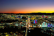 View from the Statosphere, Las Vegas, Nevada, USA<br />