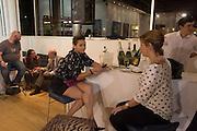 CHANTELLE HALL;  CHARLOTTE LEVY, Lady  Sandra Bates and Jason Bradbury host 'Lust' a mixed exhibition. La Galleria. Pall Mall.  London 3 September 2013.