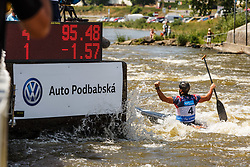 Ryan Westley (GBR) competes in Finals during Day 3 of 2018 ECA Kayak - Canoe Slalom European Championships, on June 3rd, 2018 in Troja , Prague, Czech Republic. Photo by Grega Valancic / Sportida