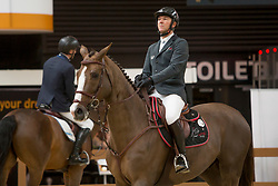 Delaveau Patrice, FRA, Aquila Hdc<br /> Indoor Brabant 2018<br /> © Sharon Vandeput<br /> 11/03/18