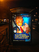 """Following Donald Trump's derogatory remarks about Brusses, broadcaster RTBF responds with humour. """"If this happens, we will be the firs to tell you!"""""""