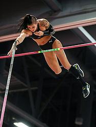 Don Kirby Invitational Indoor Track & Field<br /> Albuquerque, NM, Feb 14, 2020<br /> womens pole vault, Puma