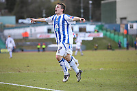 Fotball<br /> England<br /> Foto: Colorsport/Digitalsport<br /> NORWAY ONLY<br /> <br /> Brighton and Hove Albion's Dean Cox celebrates his second goal of the game<br /> Brighton and Hove Albion vs Yeovil Town at the Withdean Stadium Brighton. Coca Cola Football League One. 14/03/2009