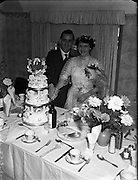 13/08/1952<br /> 8/13/1952<br /> 13 August 1952<br /> <br /> Wedding, Mr Herbert Scarry and Miss L. O'Connor at Cabra West and at 134 Carnlough Rd, Cabra West.