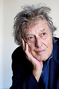 """Tom Stoppard, pictured at the American Conservatory Theater on Sunday, Oct. 9, 2016 in San Francisco, California. Stoppard's new play """"The Hard Problem"""" makes its American premiere at A.C.T., later this month."""